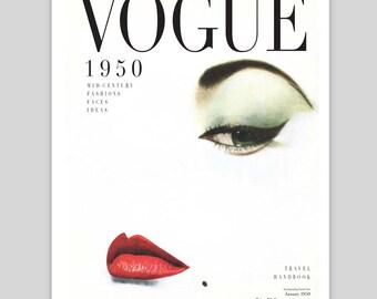 Vogue 1950 Vintage Poster