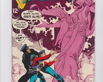Captain Action #4 comic book .... Evil At Dead Worlds End ...  issue number 4  from 1969 Comic Book