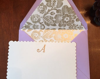 Personalized Stationery - Personalized Stationery - Custom Stationery - Greeting Cards Handmade - Handmade Cards - Stationary - Monogrammed