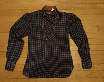 Vintage 80's tailored flannel RoyRogers