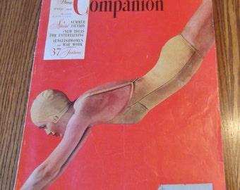 Vintage Woman's Home Companion Magazine