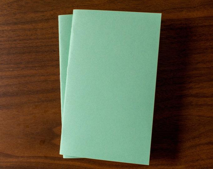 Mint Notebooks - 2 Pack Journal, Planner, Journal Insert, Planner Insert Mini Diaries, Jotters, Blank Books, Paper Notebook, bulk