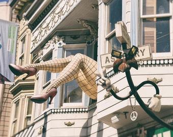 Haight Ashbury, San Francisco Print, San Francisco Photography, California, Street Art, Architecture, Fine Art Print, Home Decor, Wall Art