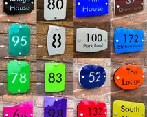 Etsy Modern House Numbers Related Items