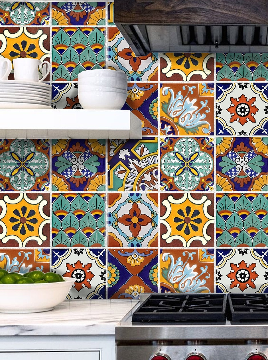 Tile Stickers For Kitchen Bath Or Floor Waterproof Tr008