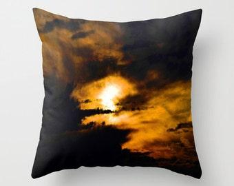 AMBER SKY    Pillow Cushion