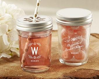 12 pcs Personalized Printed Mason Jar
