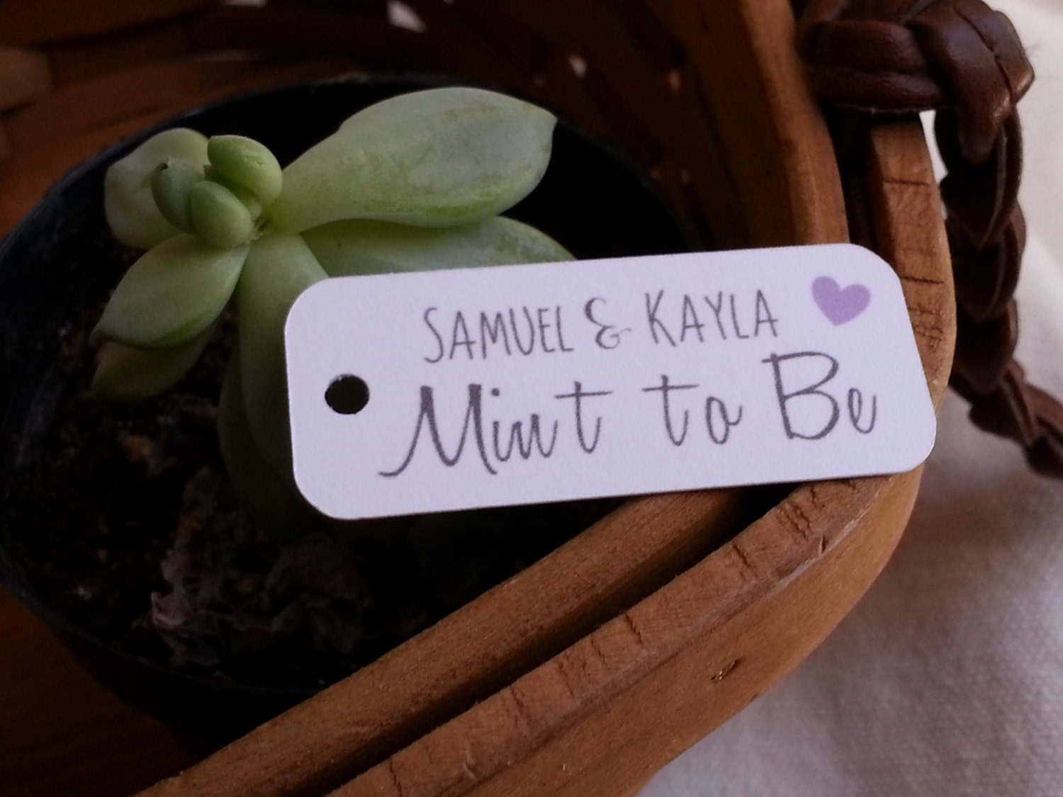 Minted Wedding Gift Tags : 25 Mint to Be Favor Tags Mint to Be Tags Wedding Mint Favor