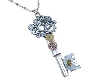 Steampunk Key Version 2 Necklace