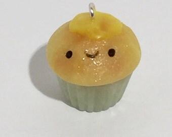 Cute Tiny CupCake Charm