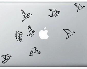 Stickers Bird Origami for Mac
