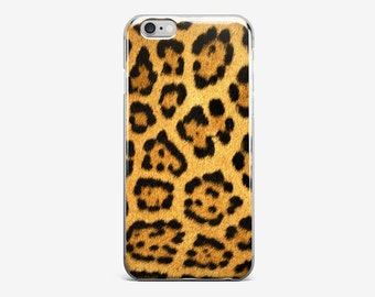 iPhone Case Leopard Phone Case iPhone 7 Case iPhone 7 Plus Tiger Stripe iPhone 6 Plus Case Animal Print iPhone 4-5 Case iPhone SE Galaxy S7