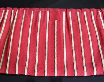 Big and Beautiful Red Walborg Cloth Clutch from Italy