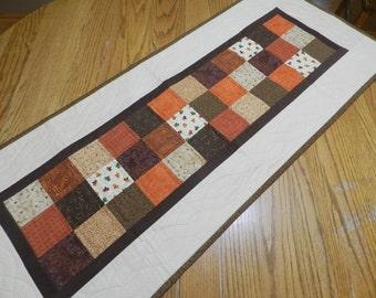 Autumn Table Runner, Harvest Table Runner, Fall Table Mat, Harvest Table  Mat,