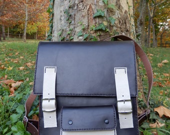 Handmade, leather, leather, leather backpack
