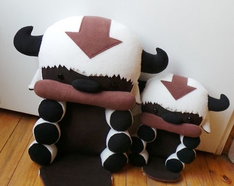 60cm lenght ~ Appa plush~ The Legend of Korra ~