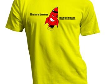 Hometown Basketball T Shirt