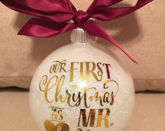 Our 1st Christmas Ornament