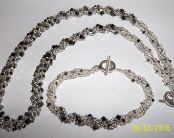Kristin Necklace and Bracelet