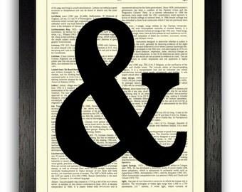 Ampersand Wall Art ampersand | etsy