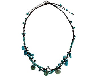Little Gypso Handmade Natural Stone Necklace