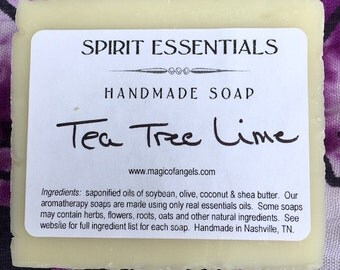 Tea Tree Lime Handmade Soap