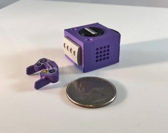 Mini Nintendo Gamecube - 3D Printed!