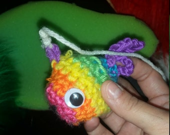 Crappy Little Fish Cat Toy