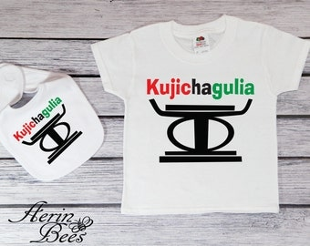 Kujichagulia Principle - Kwanzaa Bodysuit - Toddler Tee Shirt - Kwanzaa Toddler T Shirt - Youth Tee Kwanzaa - KW1509