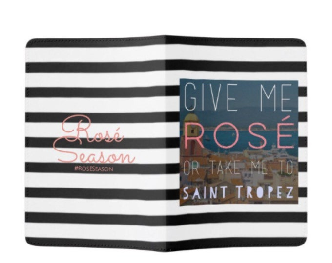 Rosé St. Tropez Passport Holder