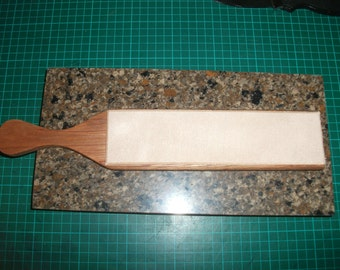Handmade Leather Paddle strop