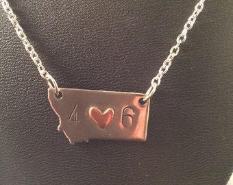 Montana love necklace