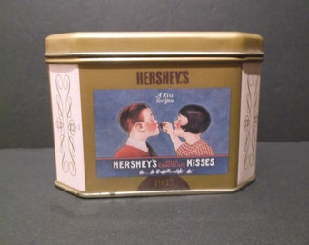 Collectible Hershey's Chocolate Tin