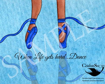 Blue Ballerina Dance