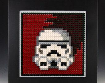 Lego Star Wars Storm Trooper Mosaic