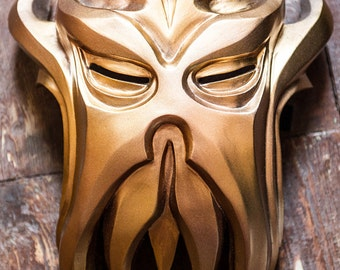 Skyrim Inspired Miraak Morokei Konahrik Dragon Priest Mask Cosplay wearable Halloween costume The Elder Scrolls V Fan Art