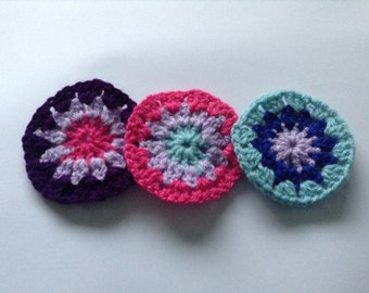 Crochet Flower Circles