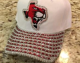 University of Houston cougar bling cap