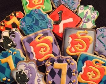 Descendants Cookies, Descendants Birthday Party