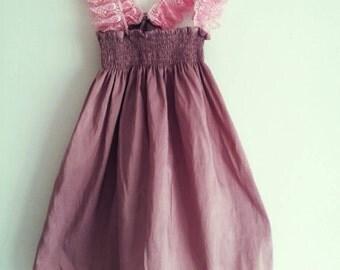 Handmade baby girl summer dress size 12-18 months