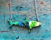 Shark Necklace / Great White Shark Necklace - Palm Garden