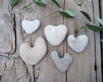Heart Shaped Stones, Heart Pebbles, Beach Stones, Beach Pebbles, Beach Finds, Stones for Crafts, Stone Hearts