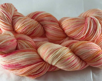Summertime in the South - Hand Dyed  Sock Yarn