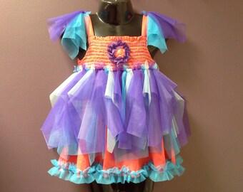 SALE 30 OFF Girls Tutu Dress Small Fairy Birthday Party