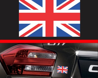 "4"" British Flag Sticker Vinyl Decal England United Kingdom Sticker Queen Car Truck SUV Sticker Macbook pro Air Sticker UK"