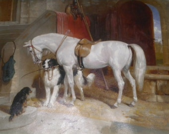 Table: painting oil (animals)