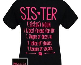 Girlie Girl Sister Shirt