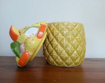 Pineapple Canister Etsy