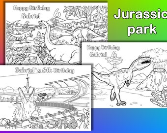 jurassic park coloring pages dinosaur birthday party coloring pages pdf file - Dinosaur Coloring Pages Pdf