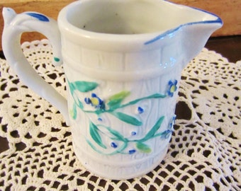 Porcelain Pitcher Country Style